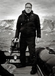 Kevin Raber, In Antarctica