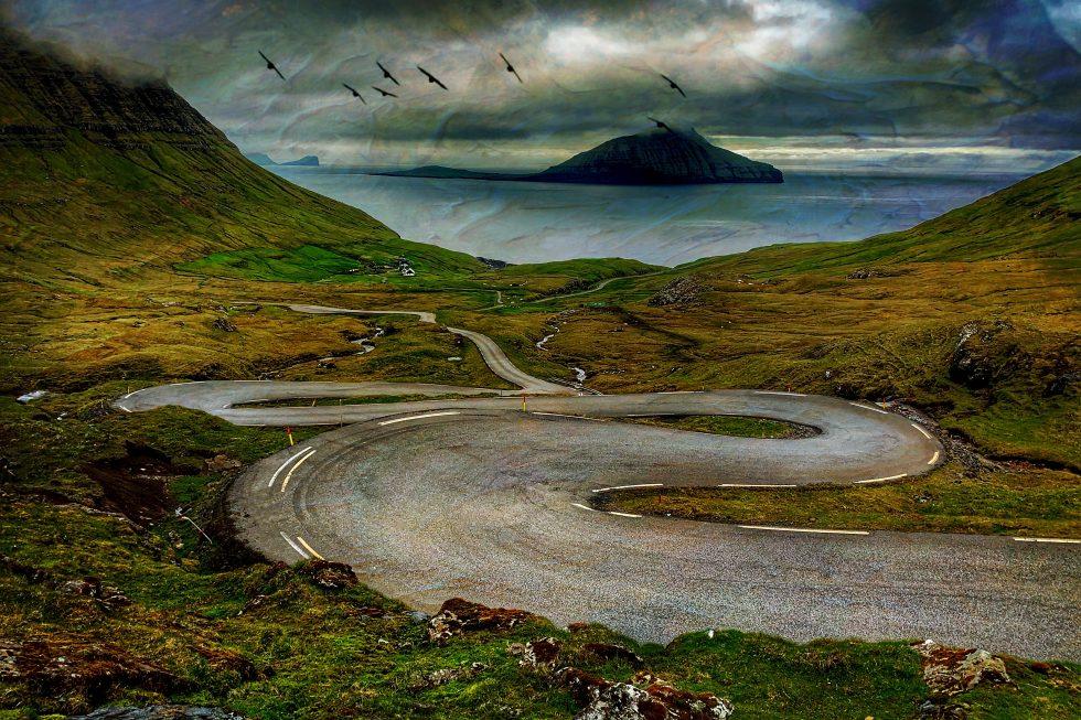 Winding Roar Faroe Islands