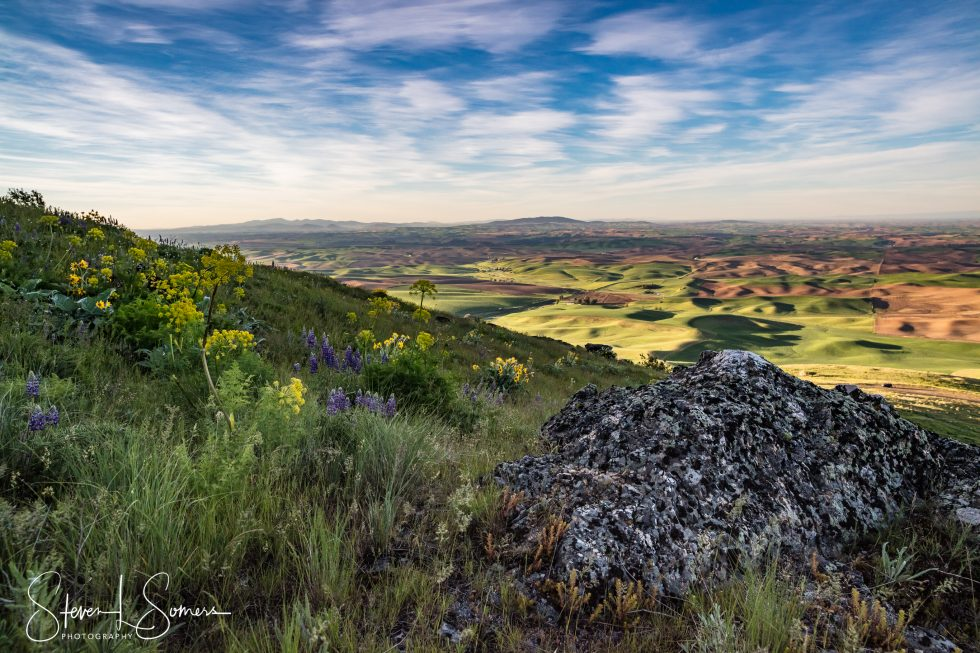 Palouse Sunrise from Steptoe Butte