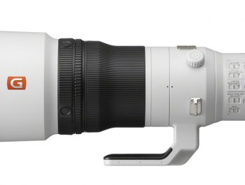 Sony Introduces the New Super-telephoto 600mm F4 G Master Prime Lens
