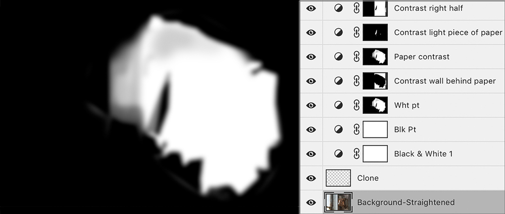 Mask - Layer Masks Isolate Parts of Image