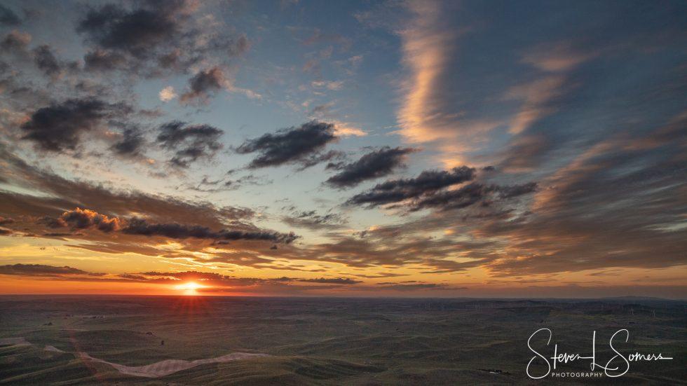 Palouse Sunset 1