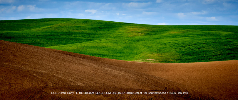 Photographed in the Palouse