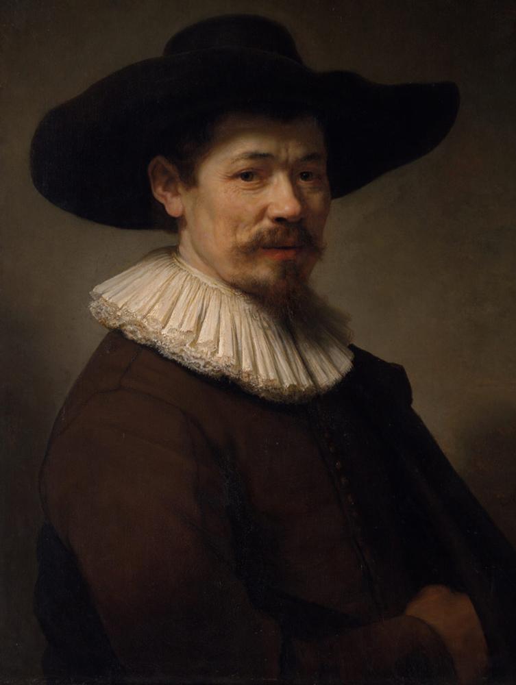 Figure 1 Herman Doomer Oil on Wood Rembrandt 1640