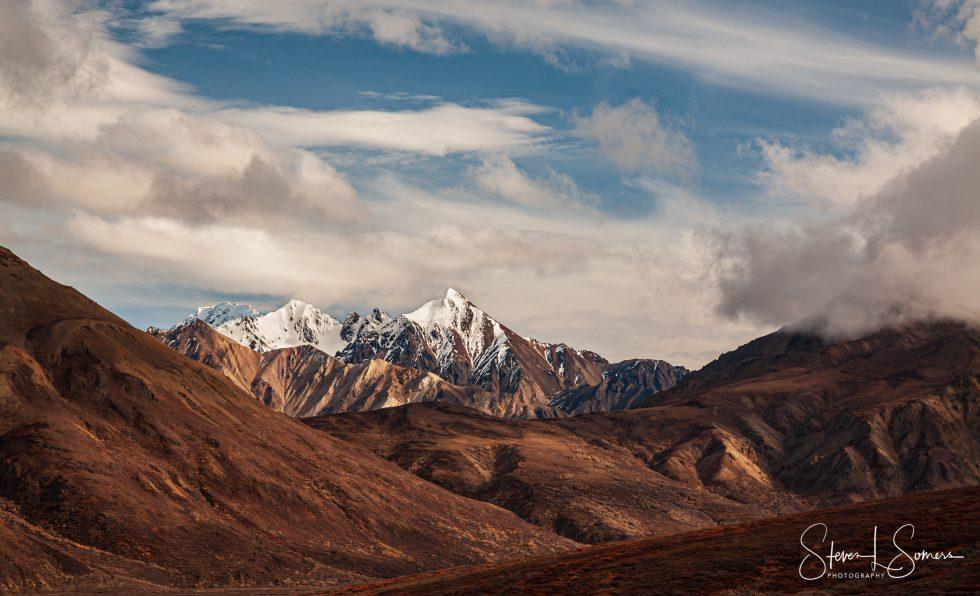 Denali National Park Afternoon Landscape View