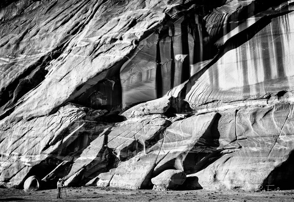 Navajo Monolith Wall
