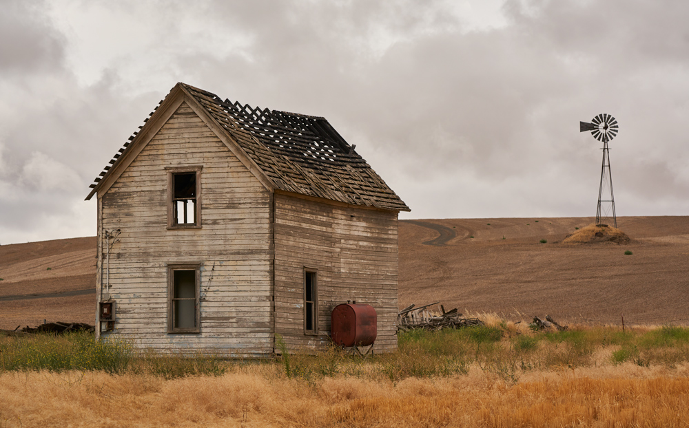 Abandonment is everywhere, it is part of the Palouse