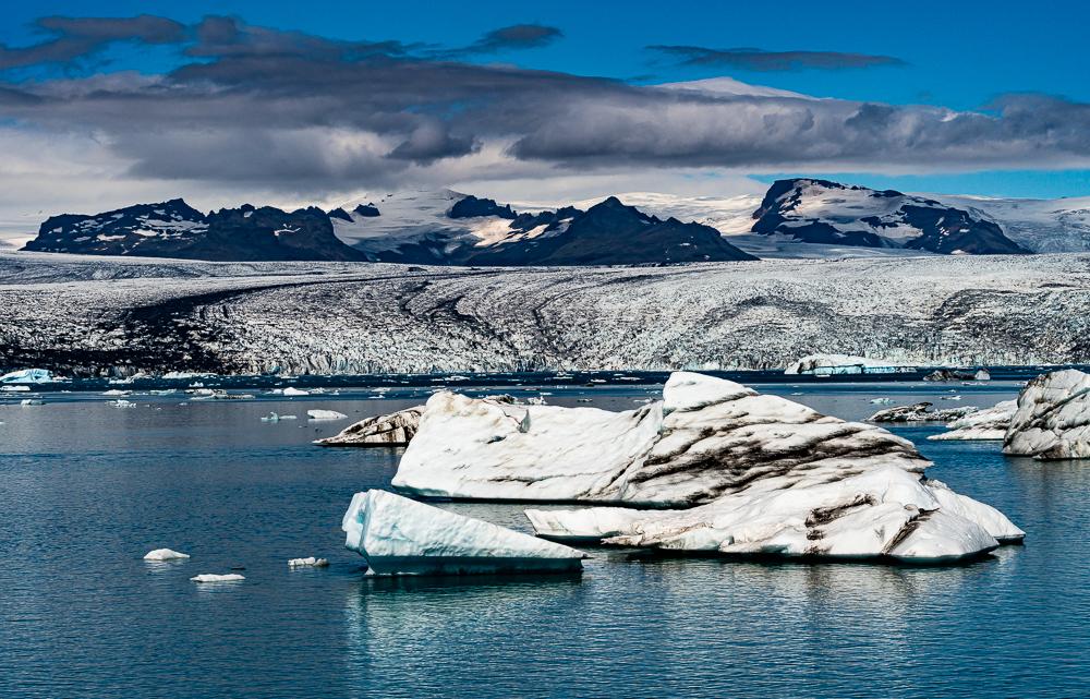 """Glacial Cycle, Jokulsarlon, Iceland, 2016"""