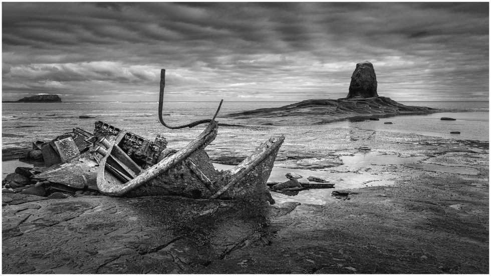 Saltwick Bay, North Yorkshire, England