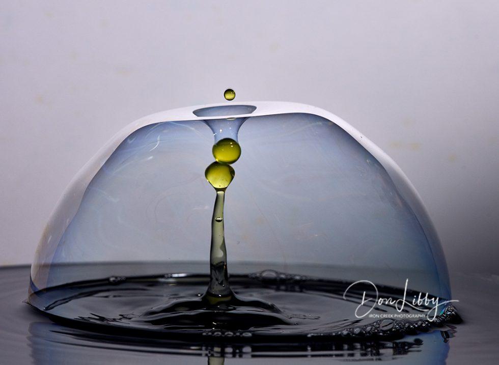 Inside a bubble
