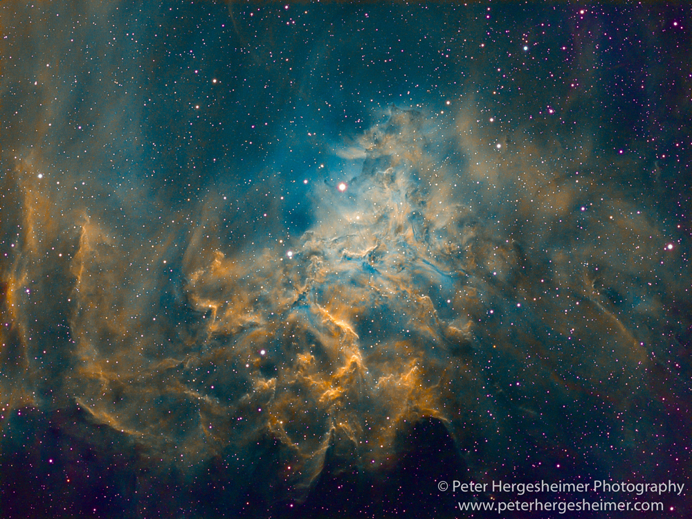 Flaming Star Nebula, IC 405