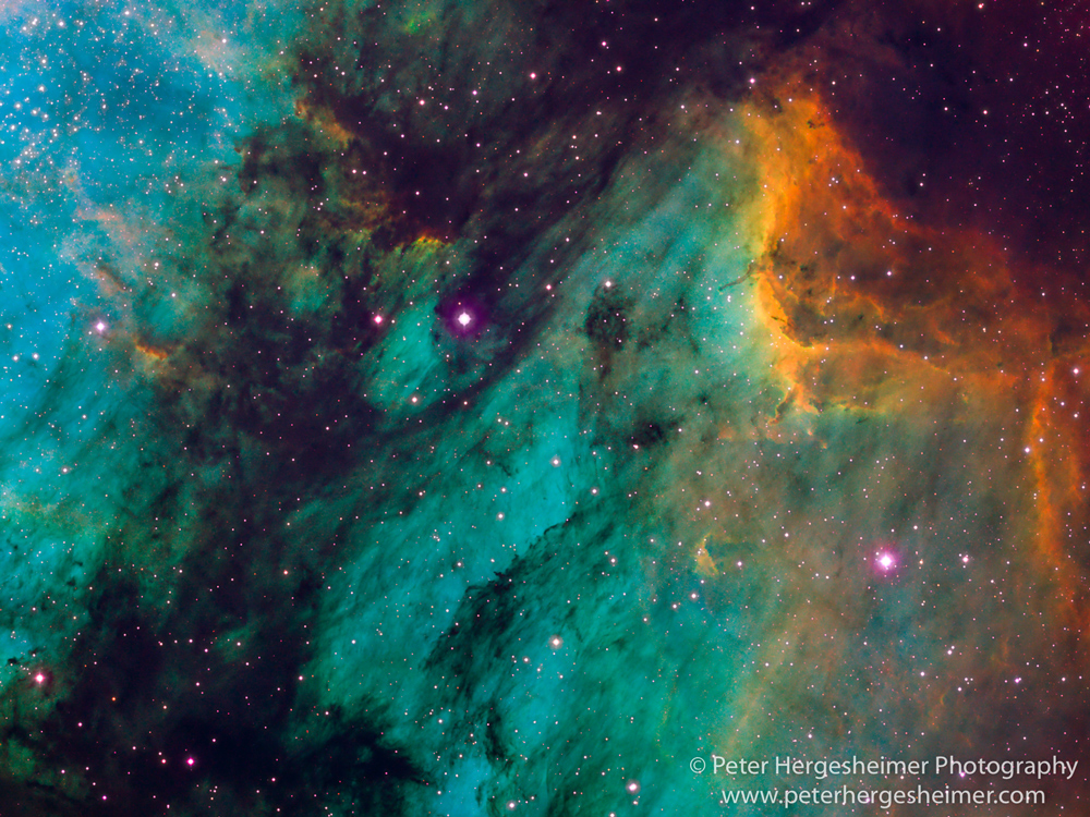 Pelican Nebula, IC 5070