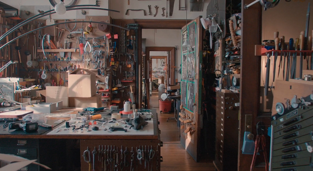 One of the rooms highlighted in the movie filled with Jay's collectables