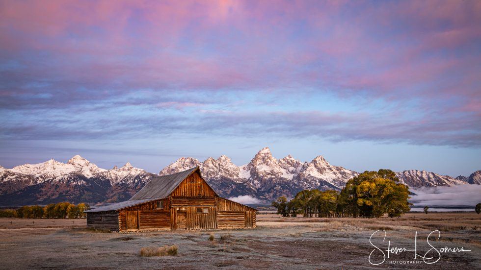 The T.A. Moulton Barn at Grand Teton National Park