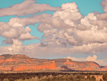 Approaching Gallup, New Mexico - Alain Briot
