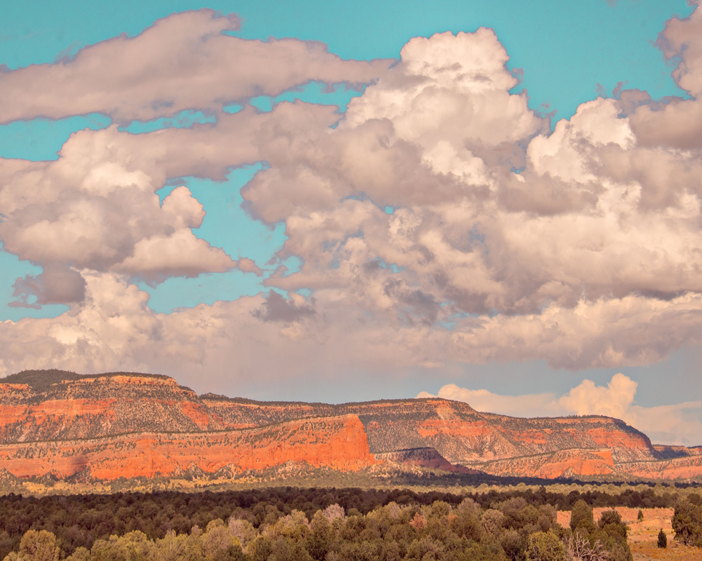 Approaching Gallup, New Mexico -Alain Briot