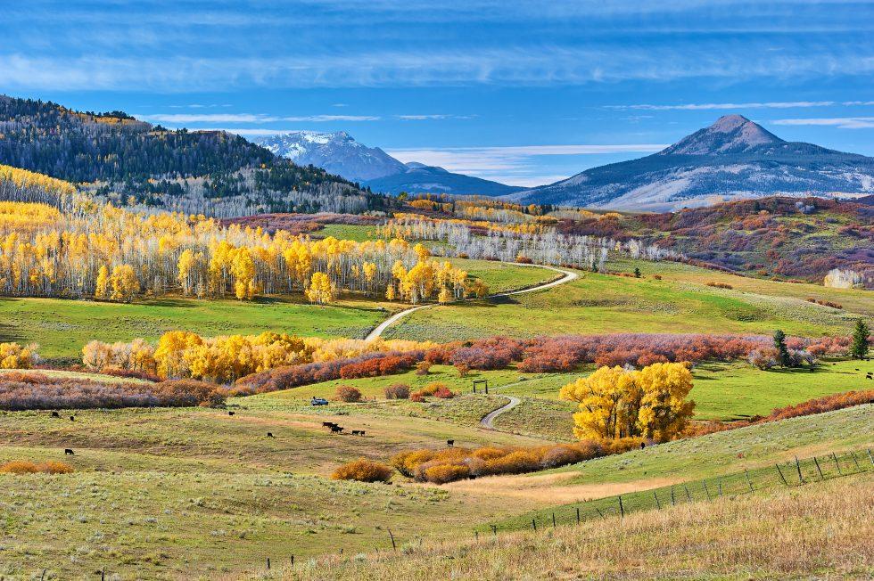 Last Dollar Road Telluride Colorado