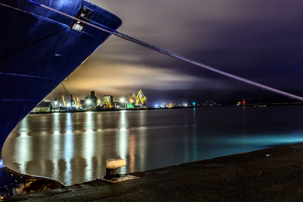 un port ,un soir;