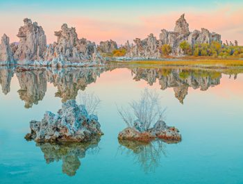 Mono Lake in Teal Colors, Lee Vining, California