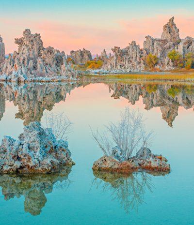 Mono Lake in Teal Colors, Lee Vining, California