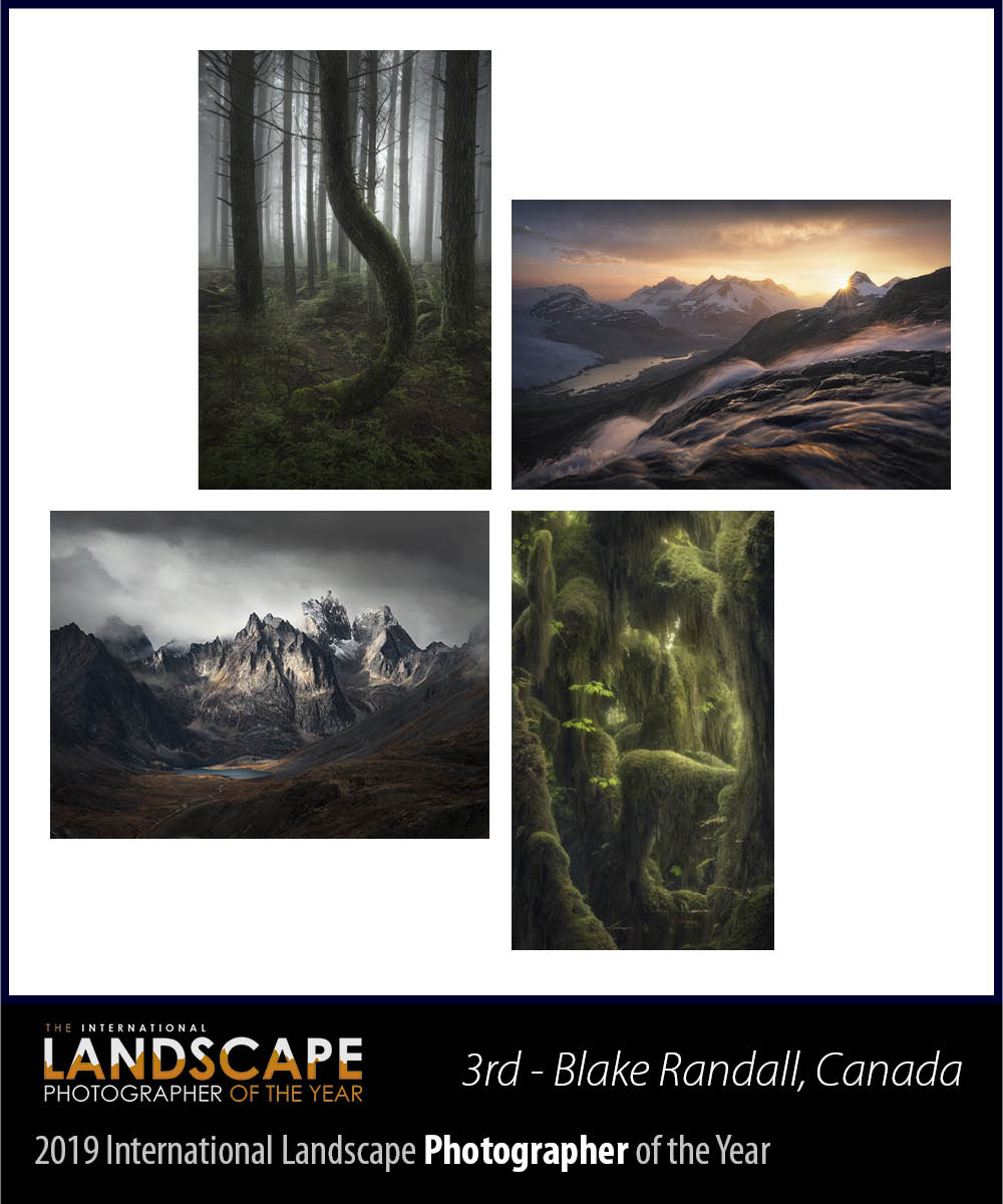 The International Landscape Photographer of the Year 2019 - Third Place Blake Randall, Canada