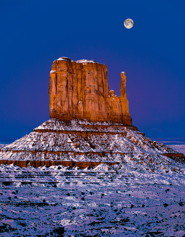 Monument Valley & Delicate Arch Moonrises