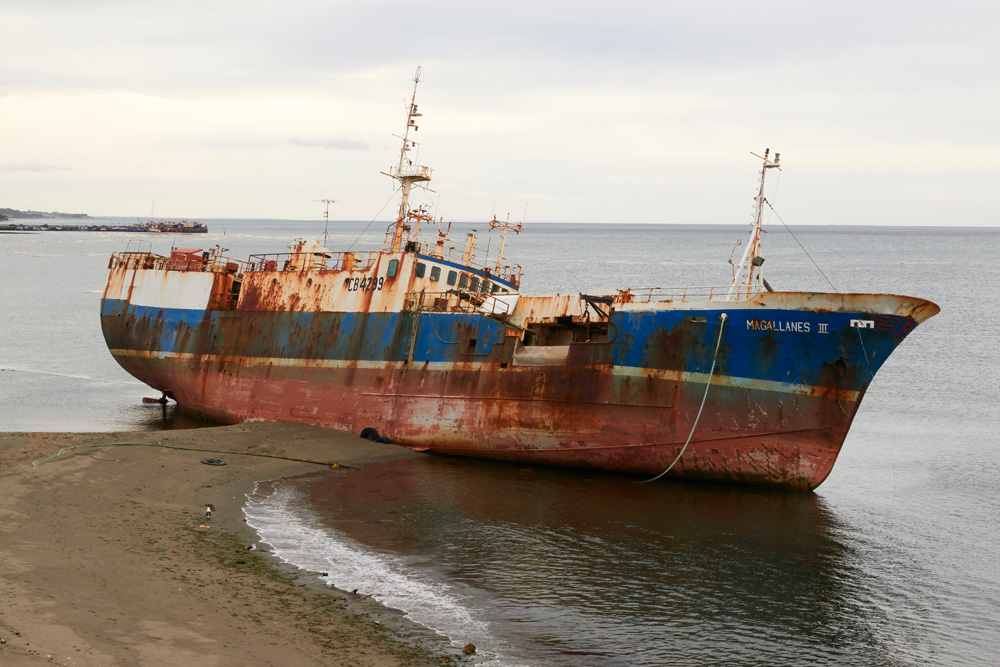 Another shipwreck, seems to be a few of them around Punta Arenas