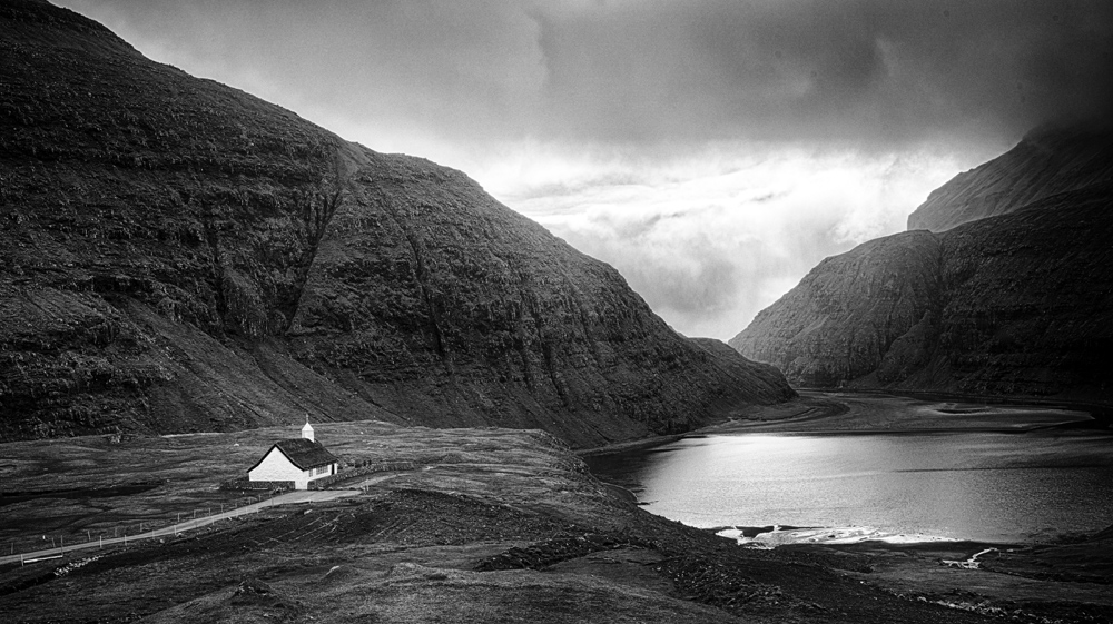 So many Faroe Island images lend themselves to B&W