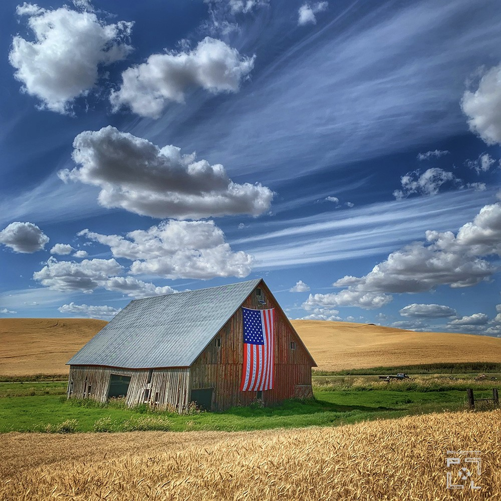 God Bless America In The Palouse