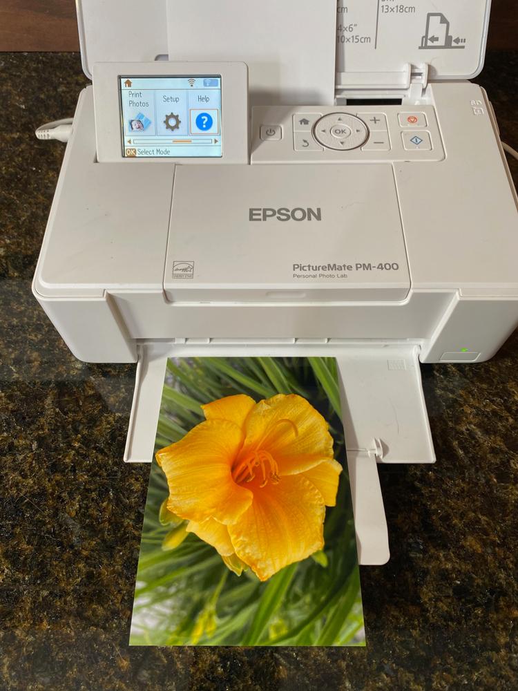 My Epson PictureMate 400