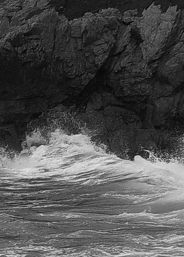 Big Sur Wave Detail Big Sur Wave Sky Grain