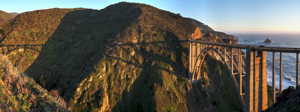 Bixby Bridge at Sunset