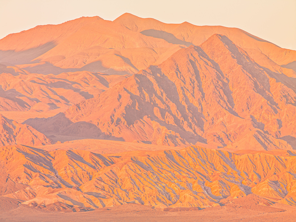 Death Valley, 2020 Digital Facture photograph