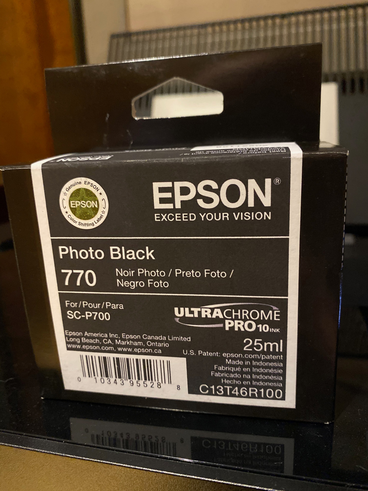 You will have to roder Epson 770 ink Cartridges