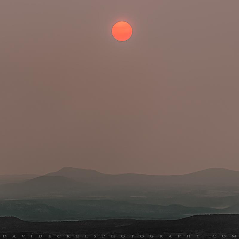 Smokey Verde Valley Sun Rising