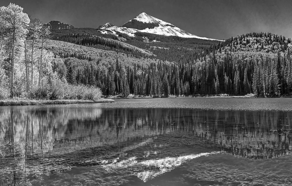 Wilson Peak from Woods Lake, CO