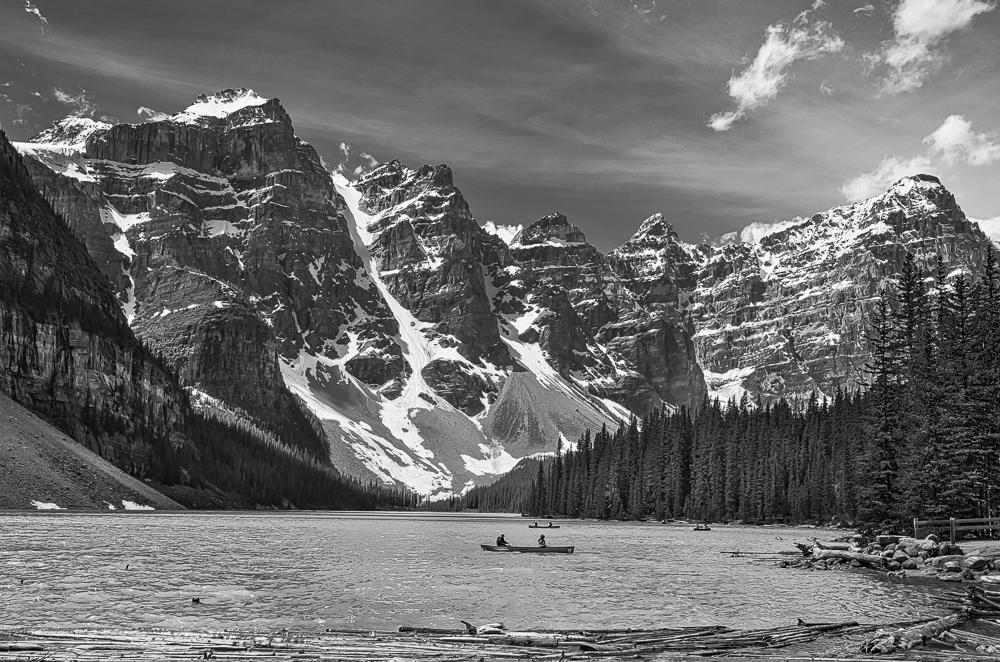 Moraine Lake, Banff NP, AB, Canada