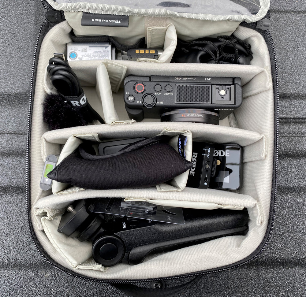 The Sony ZH-1 for video