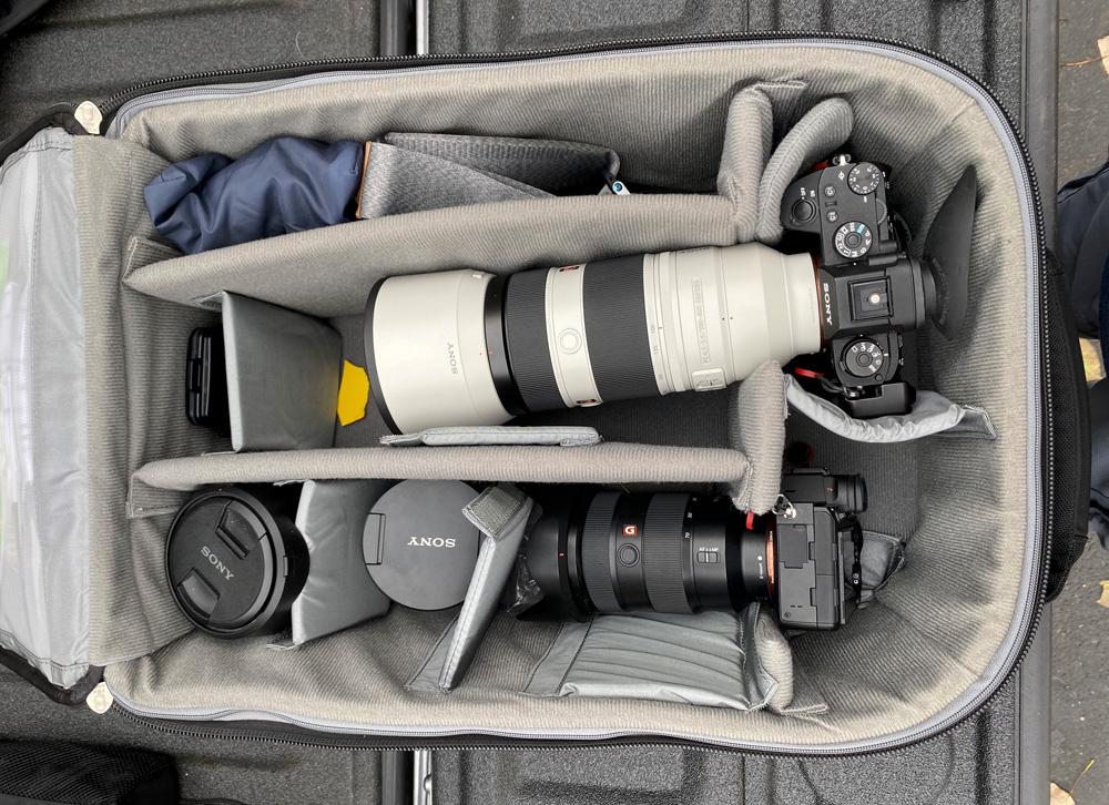 Kevin's Sony kit