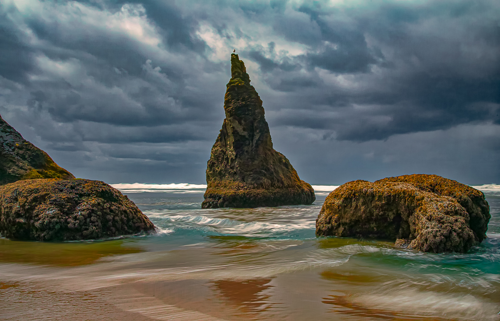 Wizard's hat, Cannon Beach, OR