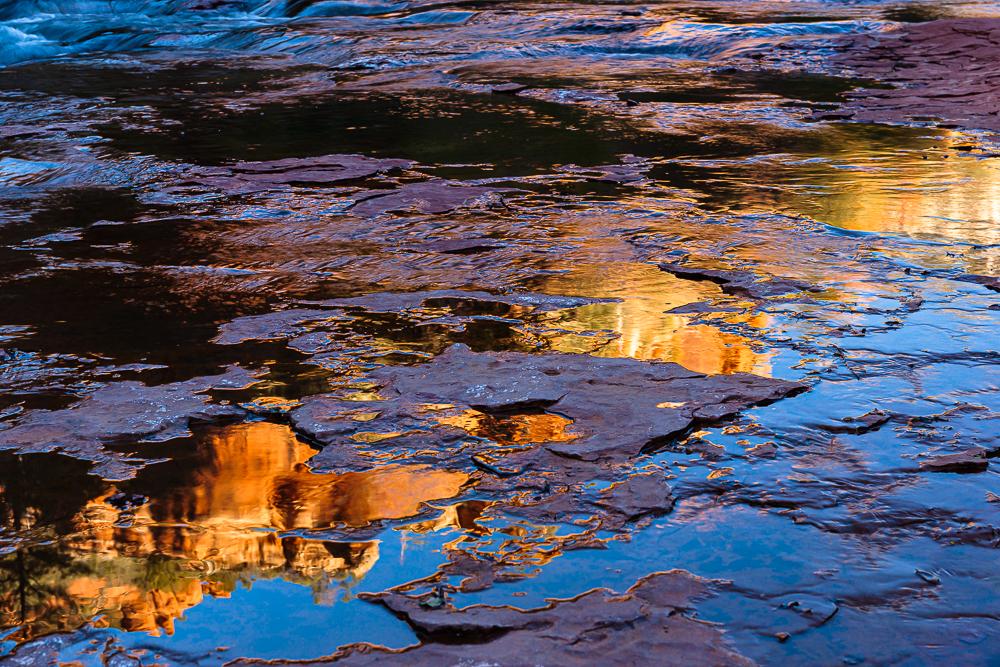 Slide Rock Sunrise 1