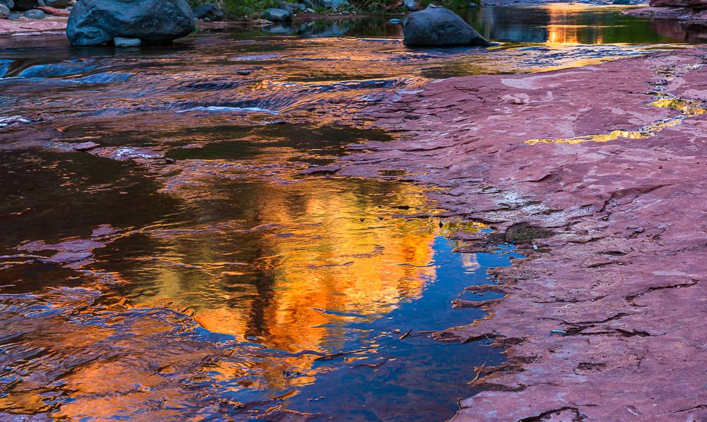 Slide Rock Sun Rise 2