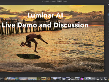 Luminar AI Demonstration LIVE With Kevin Raber