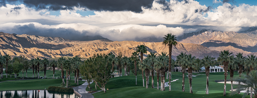 Palm Springs Vista from the Marriott Grounds, 2016