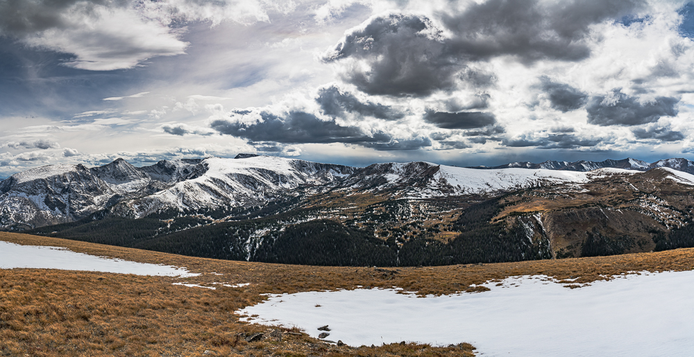 View from the Highest Point in Rocky Mountain NP, CO, 2017