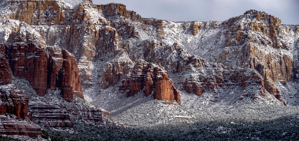 Mogollon Rim in Winter, 2010