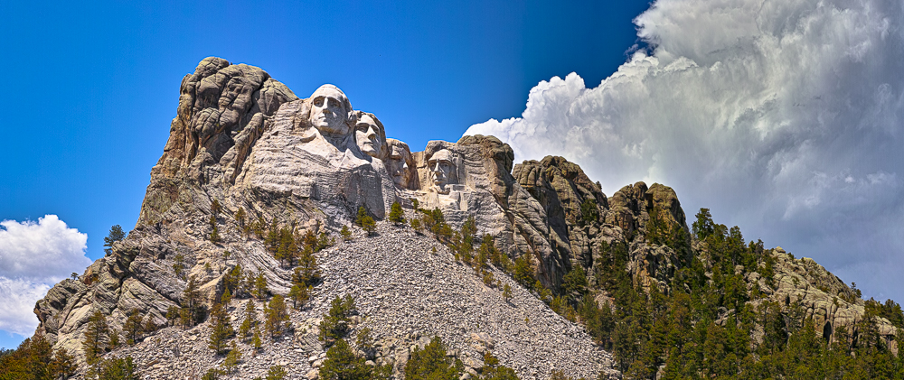 Mt. Rushmore NP, Black Hills SD, 2014