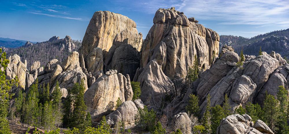 Weathered Granite Rocks, Lake Sylvan, Black Hills SD, 2014