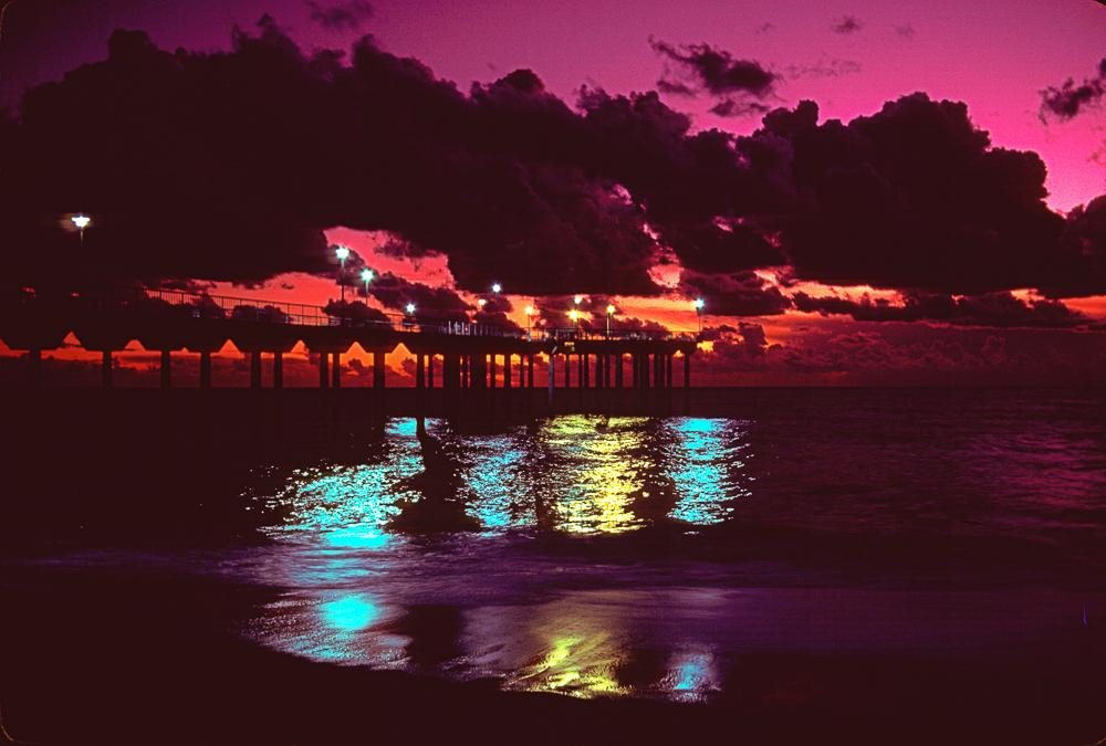 Aliso Beach, CA, 1983, on Fujichrome