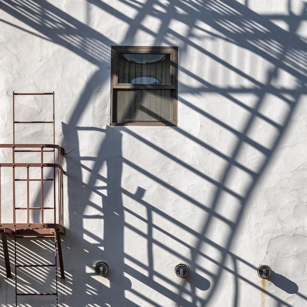 Escape shadows, National Hotel, Jackson, California